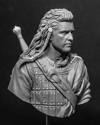 1:10 William Wallace resin bust