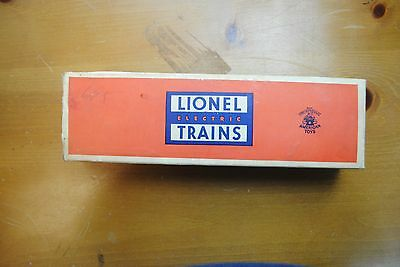 Lionel 3650Extension Searchlight Car Box Only