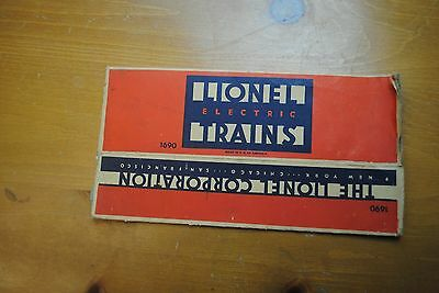 Lionel 1690 Pullman Car Box Only