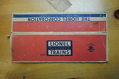 Lionel 6517 Lionel Lines Bay Window Caboose Box Only