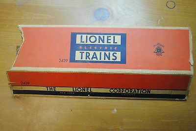Lionel 2429 Livingston Pullman Car Box Only