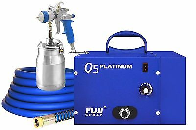 3005 Fuji Spray Q5™ PLATINUM HVLP System w/ Free Package of 5 for 5