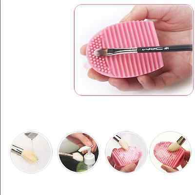 Silicone cosmetic Makeup brush egg Cleaning tool