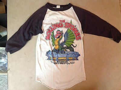 Vintage Rolling Stones 1981 Tattoo You concert shirt, Seattle RARE, + program