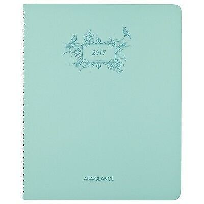"""AT-A-GLANCE Weekly / Monthly Planner / Appointment Book 2017 8-1/2 x 11"""" Poet..."""