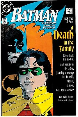 BATMAN #427 (NM) Death in the Family! Part Two High Grade! Copper-Age DC Robin