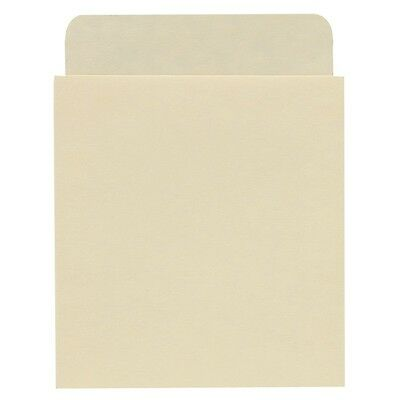 Self Adhesive Peel and Stick Book Pockets Deep Low Back - 100/Pkg
