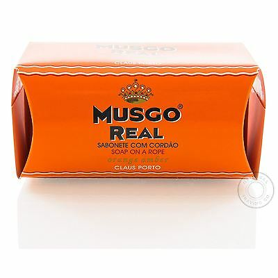 Musgo Real Soap on a Rope - 170g Orange Amber