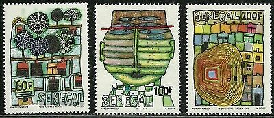 "Senegal 1979 Very Fine MNH Stamps Scott # 512-514 CV 135.00 $  ""Paintings"""