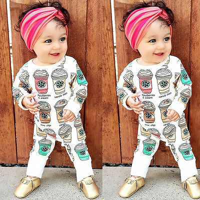 Newborn Infant Baby Boys Girls Romper Bodysuit Jumpsuit Outfits Cute Clothes