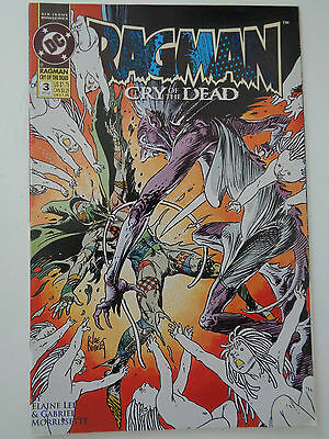 "DC Comics "" RAGMAN "" n° 3 VO (US) Oct 1993 Cry of the dead"