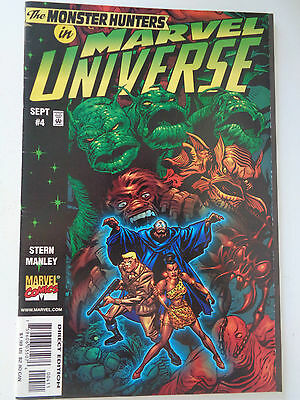 Monster Hunters in Marvel Universe Vol 1 N° 4 VO (US) Fev 1998 Comics TBE