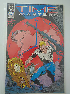 "DC Comics "" TIME MASTERS "" n° 1 of 8 VO (US) Feb 1990"