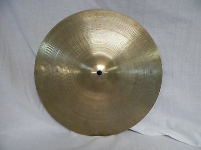 "14"" Avedis Zildjian Co. Genuine Turkish Cymbal Made in USA 1213 grams Hi Hat"