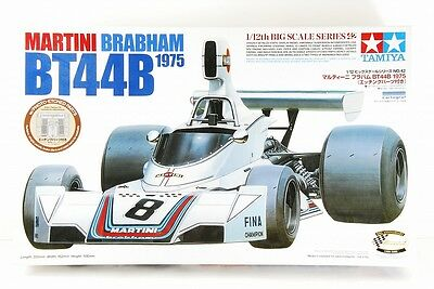 Tamiya 1/12 Martini Brabham Bt44B1975 Big Scale Etched Parts Included Very Rare!