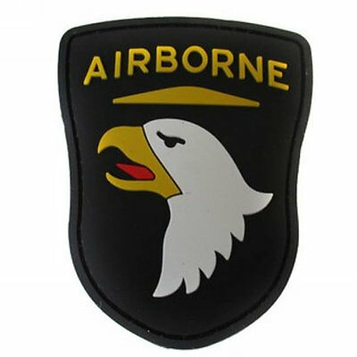 Air Assault Airborne Eagle 3D Rubber Tactical Military Morale Patch Badge