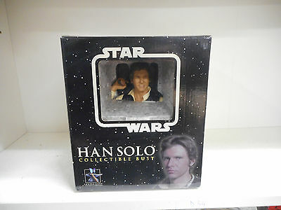 Han Solo-Collectible Bust-Gentle Giant-Ed Numerata-Star Wars-Item #6151------E16
