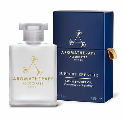 Aromatherapy Associates Support Breathe Bath & Shower Oil 55ml RRP £45.00