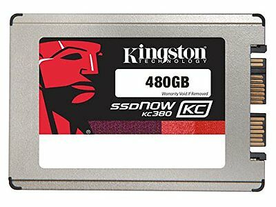 Kingston SKC380S3 Disque Flash Interne SSD 480 Go USB 2.0 Noir  740617231533