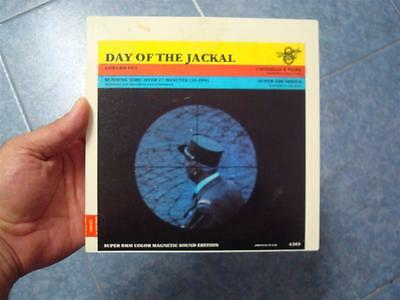 The Day Of The Jackal(Chacal)Pelicula Super 8 Mm-Retro  Vintage Film