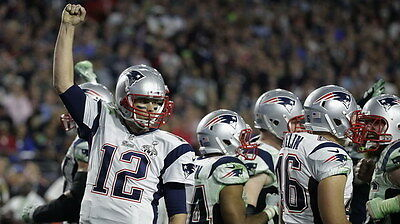 "048 Tom Brady - New England Patriots Super Bowl MVP NFL Player 42""x24"" Poster"