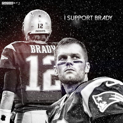 "097 Tom Brady - New England Patriots Super Bowl MVP NFL Player 24""x24"" Poster"