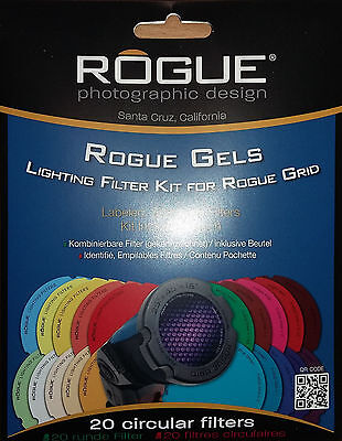 ROGUE Gri Gels - Combo filter - Neuf