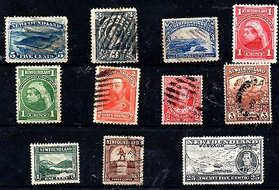 Stamps From Newfoundland 1880.