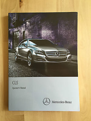 Mercedes Benz English Owner's Manual CLS550 4 Matic & CLS63 AMG 2012-14