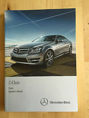Mercedes English Owner's Manual C250, C350 4 Matic & C63 AMG 2012-15 Coupe