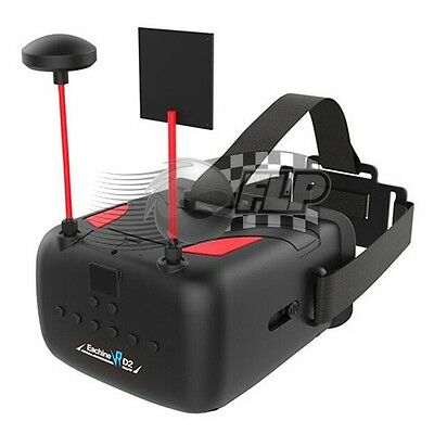 Eachine VR D2 5 Inch 800*480 40CH R-band 5.8G Diversity FPV Goggles