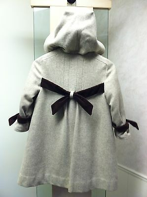 Vintage GIVENCHY Paris Child's Girl's Wool Coat - US SIZE 6