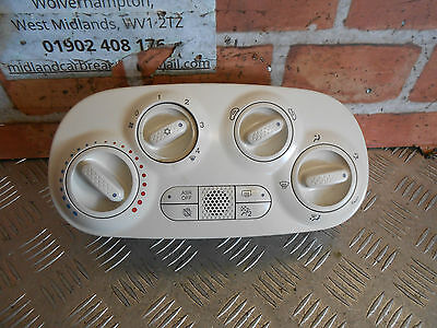 Fiat 500 312 2016 Ac Air Con Climate Heater Control Switch Panel 5H0146900