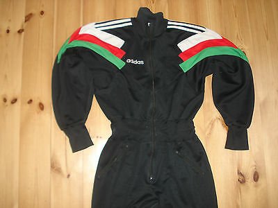 ADIDAS VINTAGE TRACKSUIT ALL IN ONE SIZE M JERSEY CAMISETA JACKET BOTTOMS f507d)