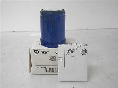 855E-24TL6 Ser A Allen Bradley Steady Led Blue 24V (New)