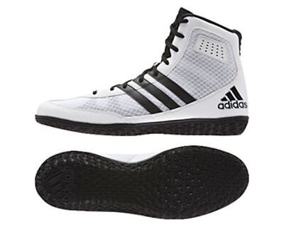Adidas Mat Wizard 3 White Wrestling Boots Shoes Adults Mens Pro S77968