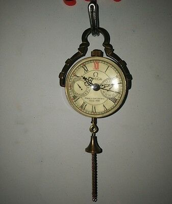 china old handwork collectable usable glass ball clock