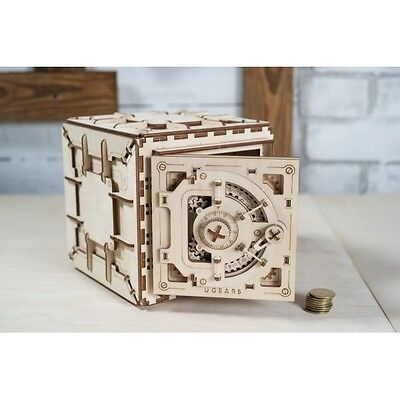 UGears Safe mechanical wooden puzzle gift 3D Puzzle Wooden Kit Assembly DIY