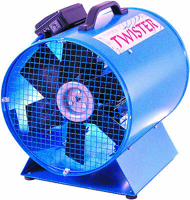 Twister Portable Fume Extractor Power Fan Ventilation