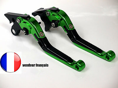Leviers levier lever Repliable Frein Embrayage KAWASAKI ER6 N/F 2009 2016 09 16