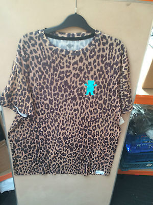 Diamond supply company grizzly leopard t shirt 251