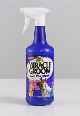 Absorbine Showsheen Miracle Groom 946ml Bath In A Bottle- Showing/Bathing/Equine