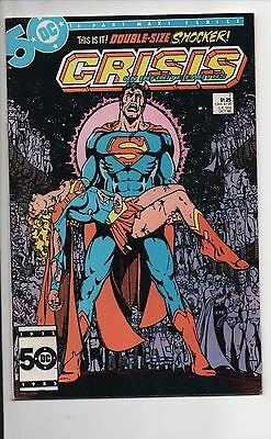 Crisis On Infinite Earths #7 Nm- 1985 Death Of Supergirl Wolfman/perez