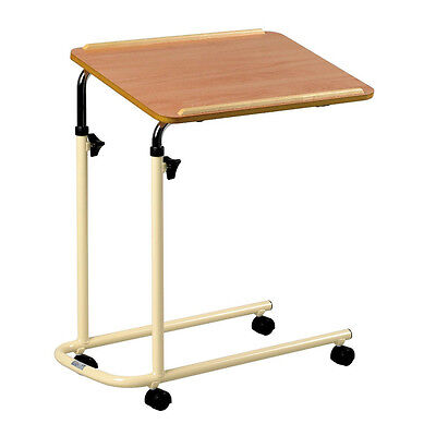 Days Tilting Top Height Adjustable Overbed Table without Castors
