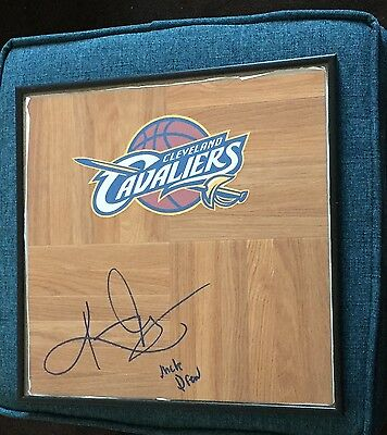 Kyrie Irving Signed Framed Uncle Drew Floorboard Autograph Coa Cavaliers Rare