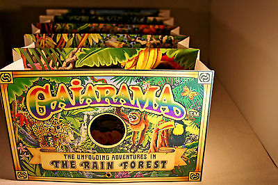 Seltenes 3-D-Pop-up Gaiarama Regenwald Unfolding Adventures in the Rain Forest