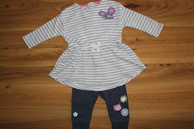 NEXT girls sweet pea dress leggings outfit 6-9 months *I'll combine postage*