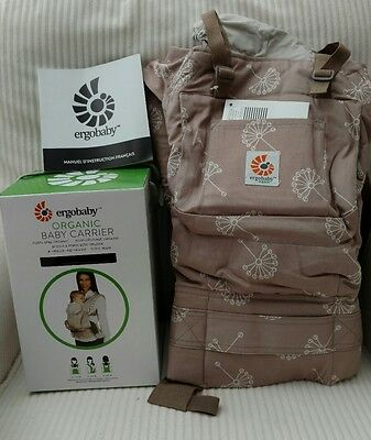 New with box Ergo Baby Carrier in Dandelion