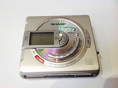 SHARP MD HEADPHONE PLAYER ***701*** Japan Portable Mini Disc Player Music  discs