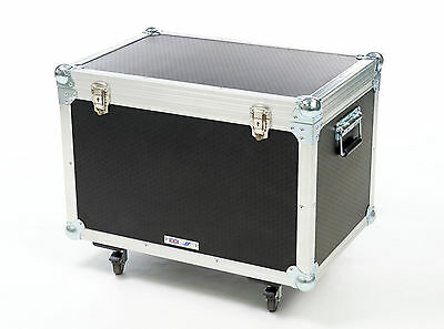 5 Star Cases UK Made General Purpose Foamed Transit 600mm Stacking Flight Cases